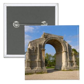 France, St. Remy de Provence, Triumphal Arch Button