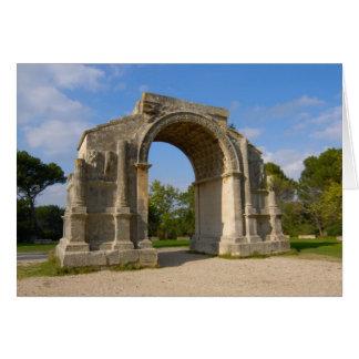 France, St. Remy de Provence, Triumphal Arch Card