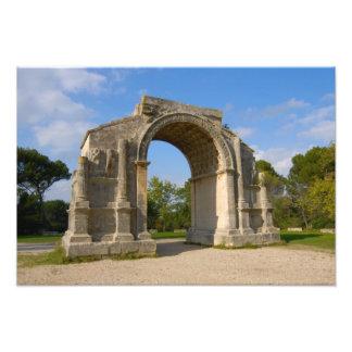 France, St. Remy de Provence, Triumphal Arch Photo