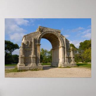 France, St. Remy de Provence, Triumphal Arch Poster