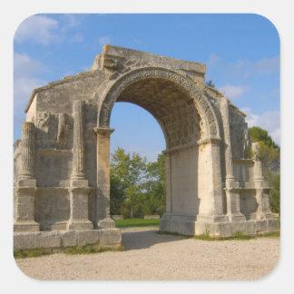 France, St. Remy de Provence, Triumphal Arch Square Sticker