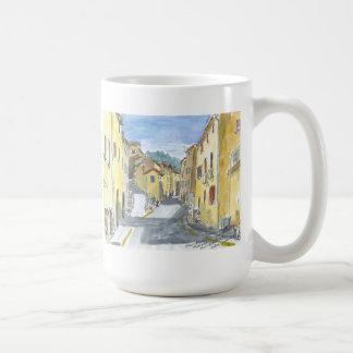 France Streetscape Classic White Coffee Mug