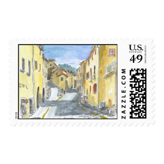 France Streetscape Stamps