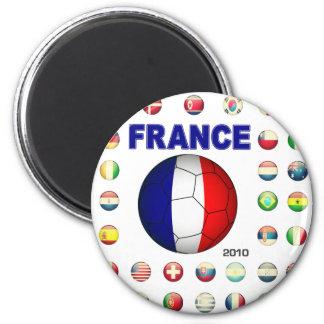 France t-shirt d7 magnet