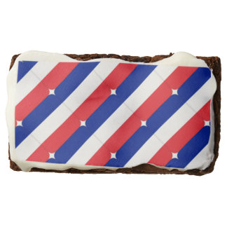 France Theme Party Favors French Flag Brownies