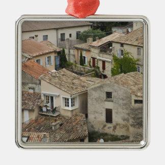 France, Vaison la Romaine. Looking down on Metal Ornament