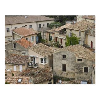 France Vaison la Romaine Looking down on Postcard