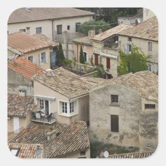 France, Vaison la Romaine. Looking down on Square Sticker