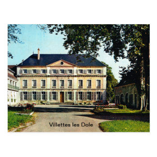 France Villettes les Dole Chateau 1938 Postcards