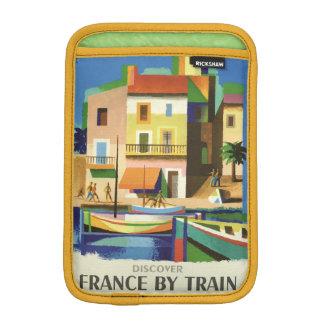 FRANCE Vintage Travel device sleeves iPad Mini Sleeves