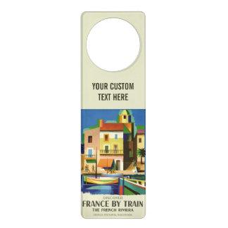 FRANCE Vintage Travel door hanger