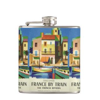 FRANCE Vintage Travel flask