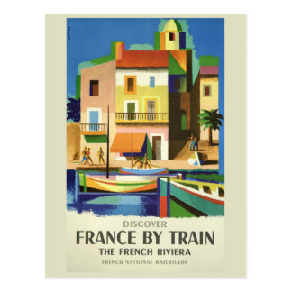 FRANCE Vintage Travel postcard
