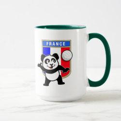 Combo Mug with France Volleyball Panda design