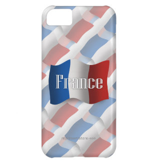 France Waving Flag iPhone 5C Cases