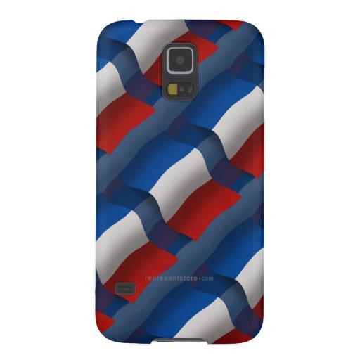France Waving Flag Galaxy Nexus Cover