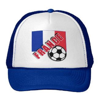 FRANCE World Soccer Fan Tshirts Trucker Hat