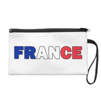 France Wristlet Purse