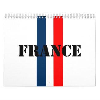 France Calendar