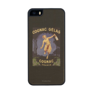 FranceCognac Gelas Promotional PosterFrance Wood Phone Case For iPhone SE/5/5s