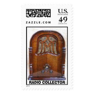 Francés 1, COLECTOR DE RADIO de Jesse Timbres Postales