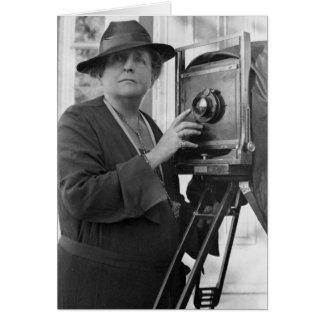 Frances Benjamin Johnston, 1936 Tarjeta De Felicitación