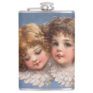 Frances Brundage: Angel Couple 1 Flask