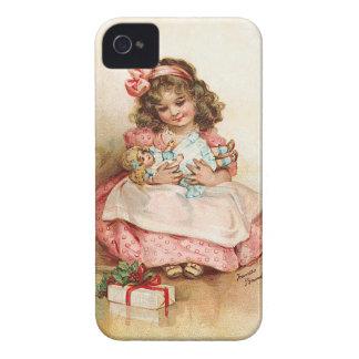 Frances Brundage - chica con la muñeca iPhone 4 Case-Mate Funda