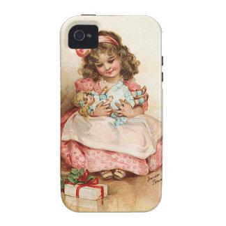 Frances Brundage - chica con la muñeca iPhone 4/4S Funda