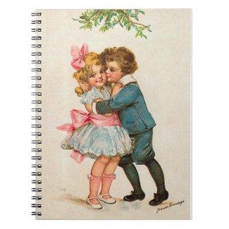 Frances Brundage: Children under Mistletoe