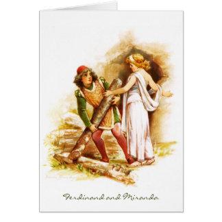 Frances Brundage: Ferdinand and Miranda Card