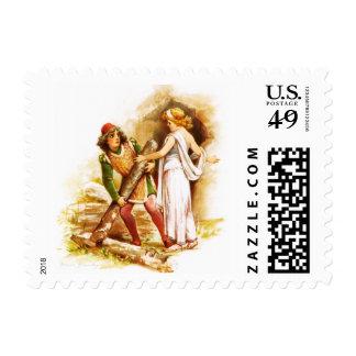 Frances Brundage: Ferdinand and Miranda Postage Stamp