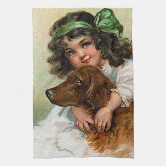 Frances Brundage: Girl with Dog