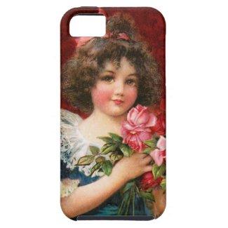 Frances Brundage: Girl with Roses