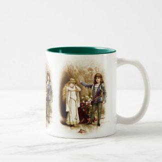Frances Brundage: Hamlet and Ophelia Two-Tone Coffee Mug