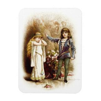 Frances Brundage: Hamlet and Ophelia Rectangular Photo Magnet