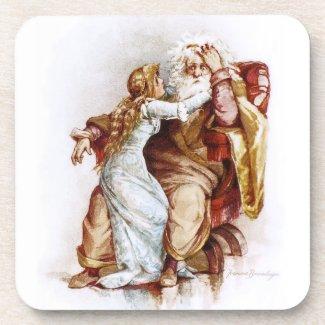 Frances Brundage: King Lear and Cordelia