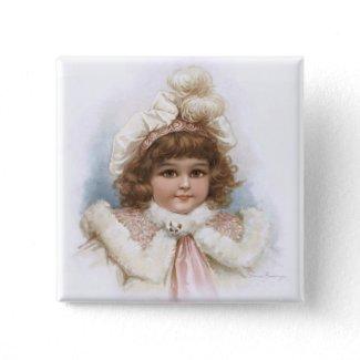 Frances Brundage: Little Girl with Fur Collar