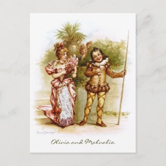 Frances Brundage: Olivia and Malvalio