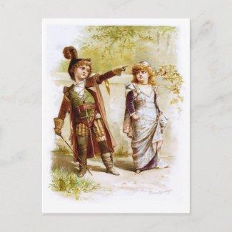Frances Brundage: Petruchio and Katharina