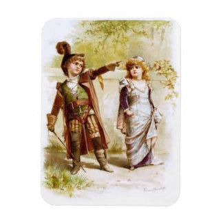 Frances Brundage: Petruchio and Katharina Rectangular Photo Magnet