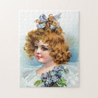 Frances Brundage: Portrait of a Flowery Girl