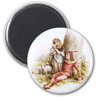 Frances Brundage: Prince Florizel and Perdita 2 Inch Round Magnet