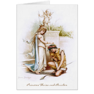Frances Brundage: Princess Thaisa and Pericles Card