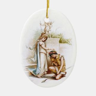 Frances Brundage: Princess Thaisa and Pericles Ceramic Ornament