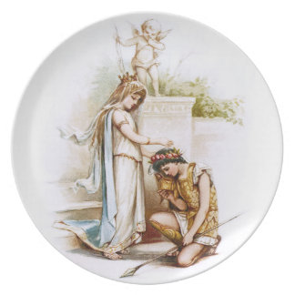 Frances Brundage: Princess Thaisa and Pericles Plate