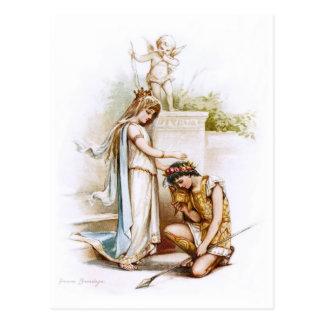 Frances Brundage: Princess Thaisa and Pericles Postcard