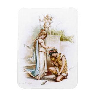 Frances Brundage: Princess Thaisa and Pericles Rectangular Photo Magnet