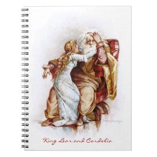 Frances Brundage Rey Lear y Cordelia Cuaderno