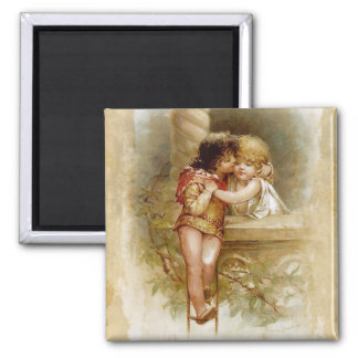 Frances Brundage: Romeo and Juliet 2 Inch Square Magnet
